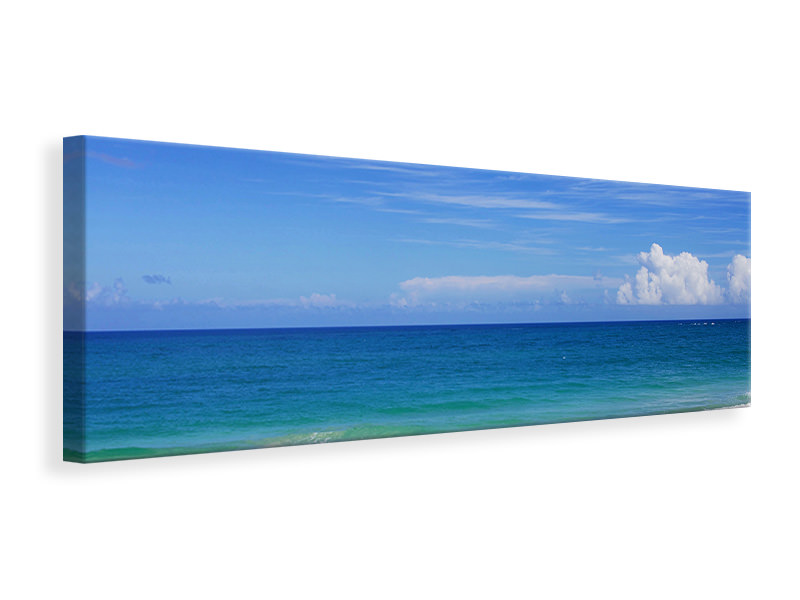 Panoramic Canvas Print Best beach location