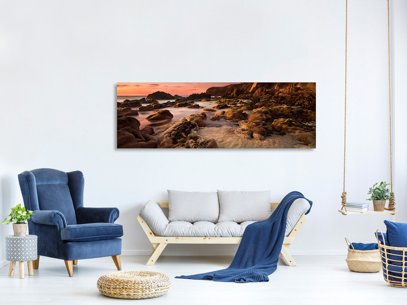 Panoramic Canvas Print My Refugee