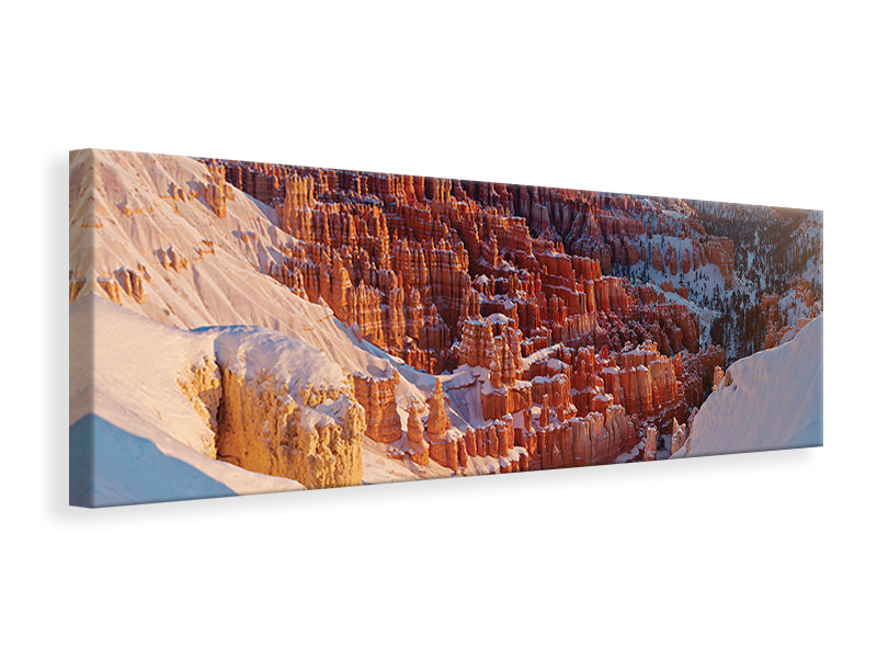 Panoramic Canvas Print Inspiration Point