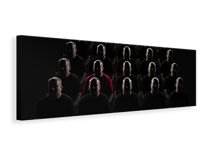 Panoramic Canvas Print The Individual