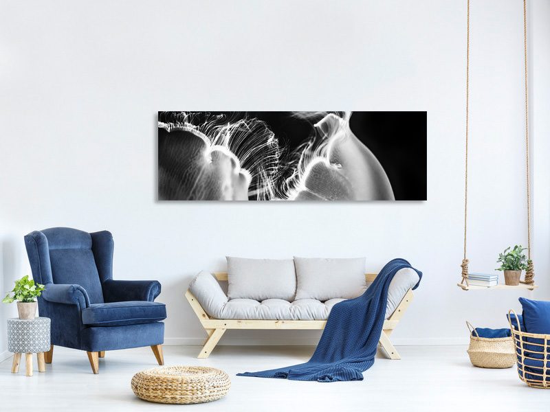 Panoramic Canvas Print Untitled III