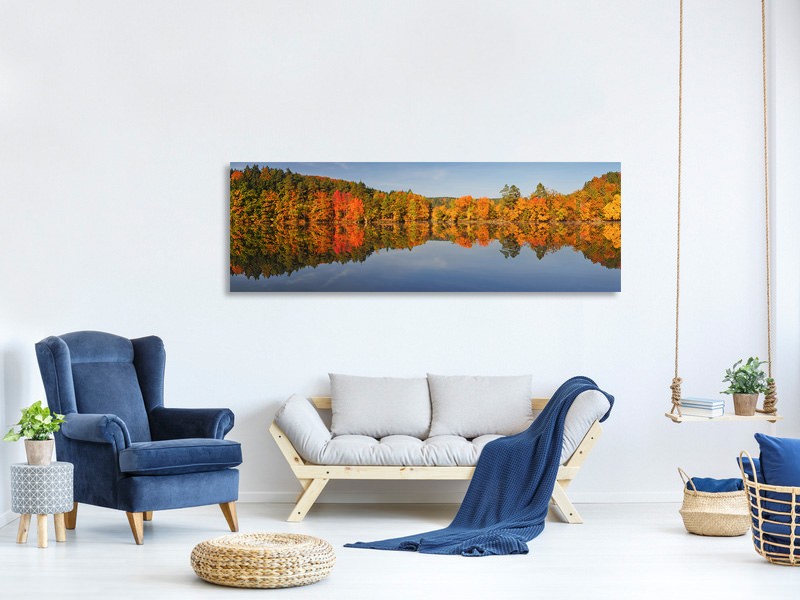 Panoramic Canvas Print Autumn II