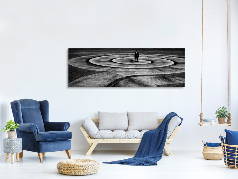 Panoramic Canvas Print Untitled V