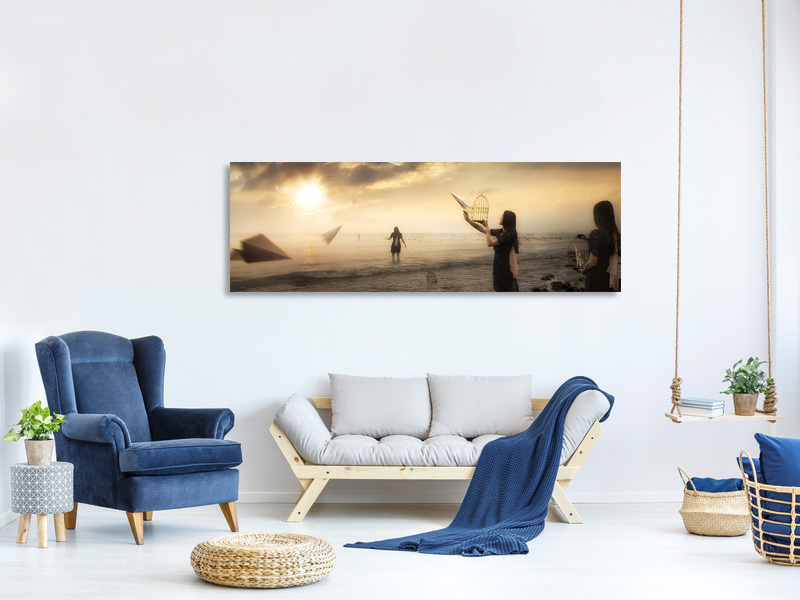 Tableau sur Toile Panoramique Released