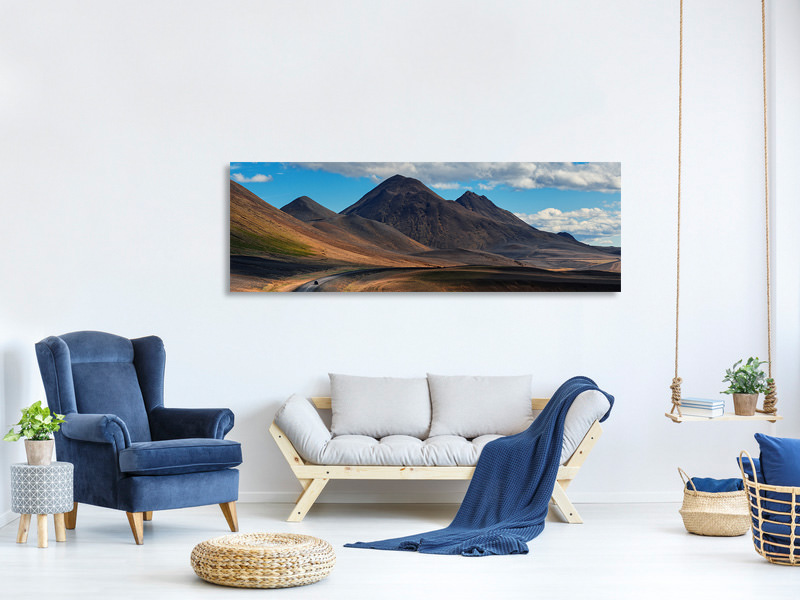 Panoramic Canvas Print Iceland II A