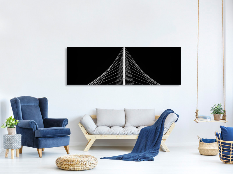 Panoramic Canvas Print Lute II