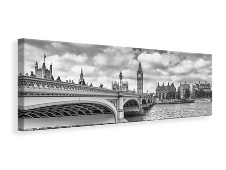 Panoramic Canvas Print Westminster Bridge