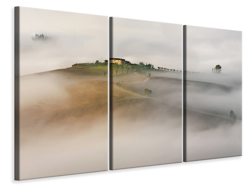 3 Piece Canvas Print Tuscany II