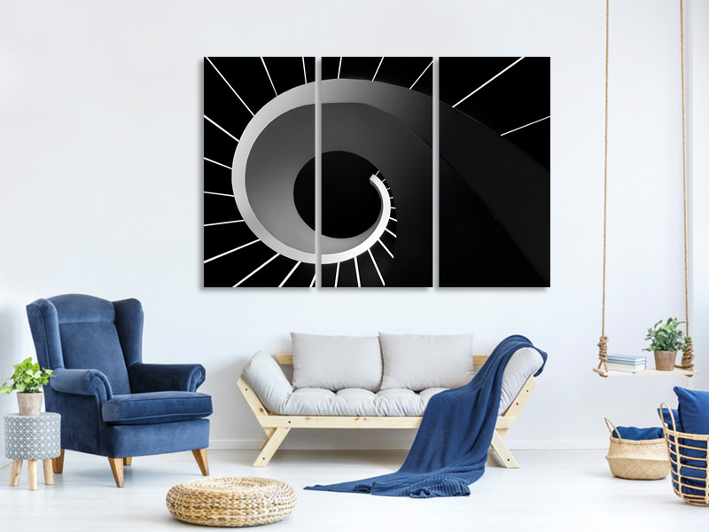 3 Piece Canvas Print Escape The Void