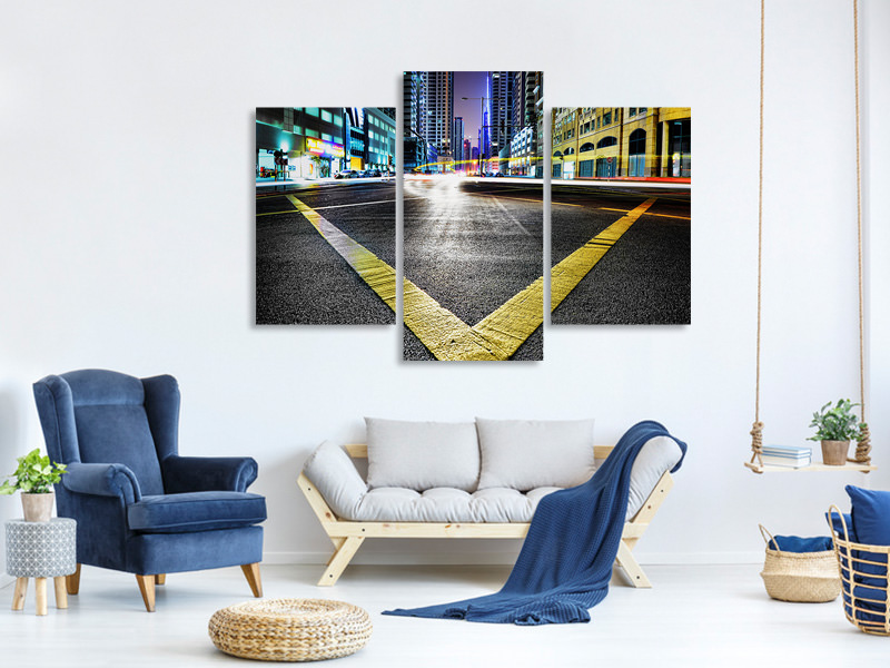 Modern 3 Piece Canvas Print V