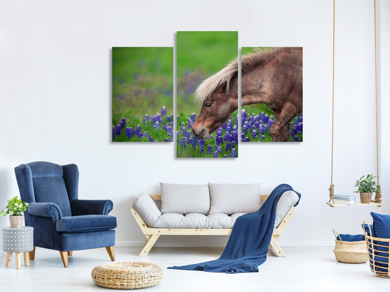 Modern 3 Piece Canvas Print Spring Is In The Air