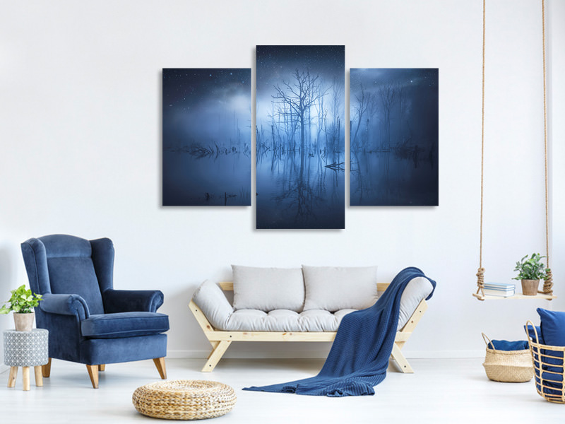 Modern 3 Piece Canvas Print Stranger Things