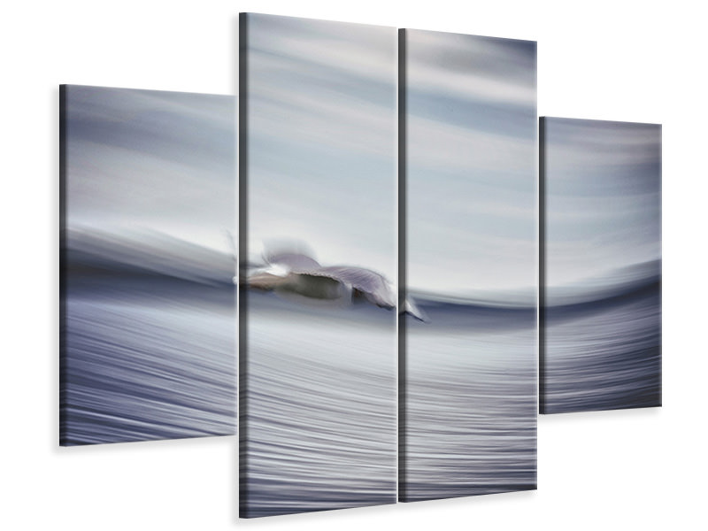 4 Piece Canvas Print Untitled 4