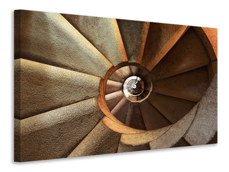 Canvas print Imposing staircase