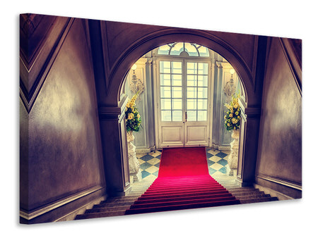 Canvas print Pompous entrance