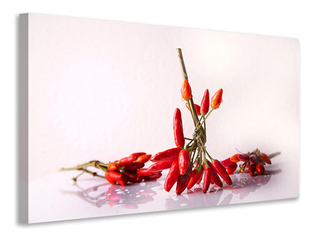 Canvas print A bouquet of chili