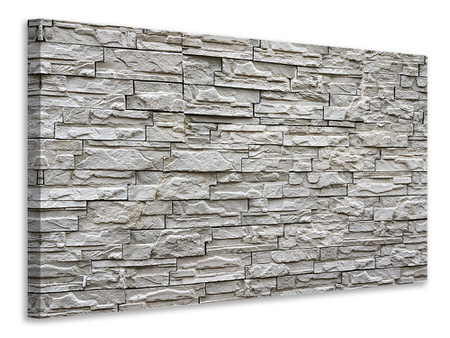 Canvas print Stone wall design