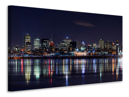 Tableau sur toile Montreal Night