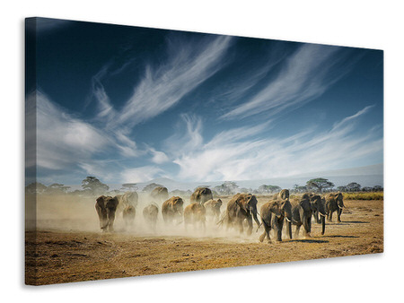 Canvas print A Very Long Thinking