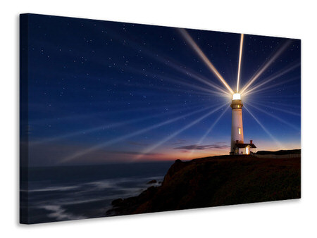 Tableau sur toile Lighting Of The Lens