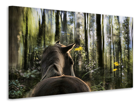 Canvas print Sound Are Forest