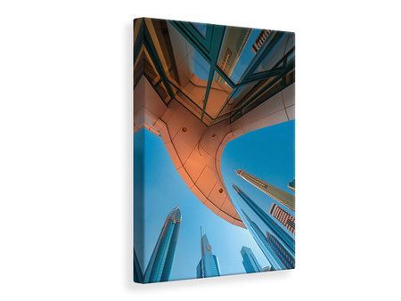 Canvas print Skylines