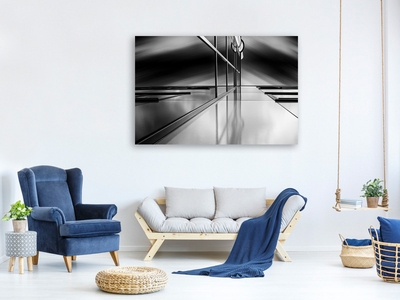 Canvas print Lines And Reflections