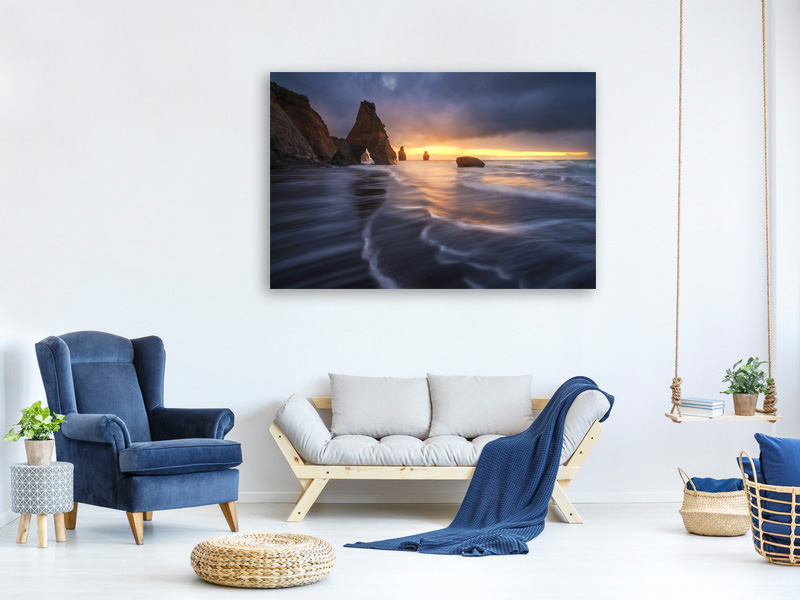 Canvas print Raging Tide