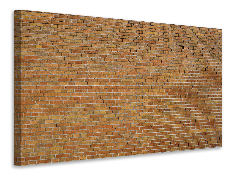 Canvas print Brick Background