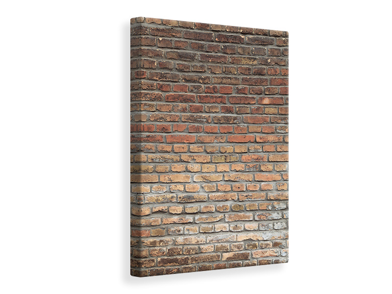 Canvas print Red Brick Wall