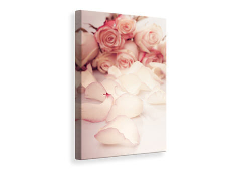Canvas print Soft Rose Petals