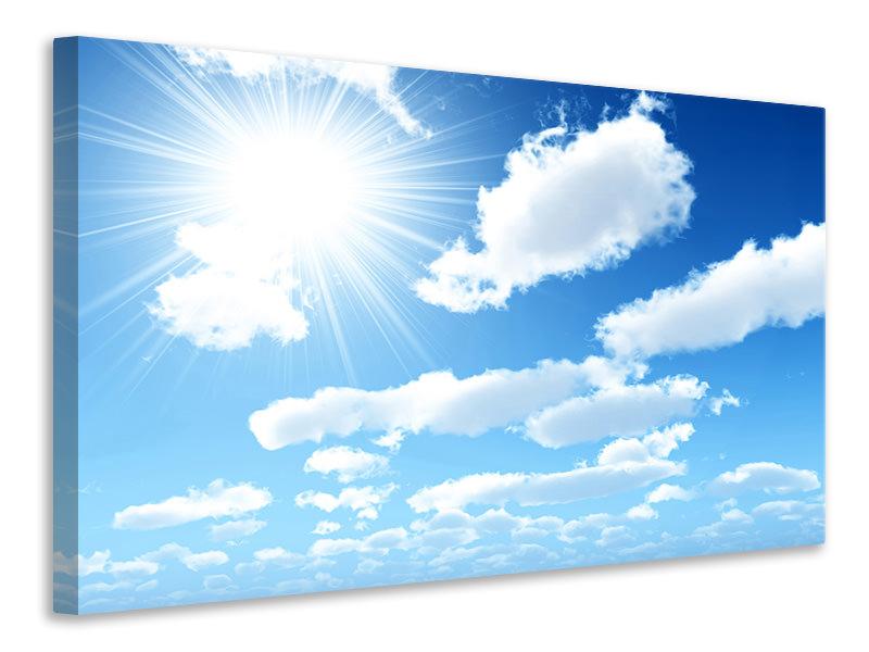 Leinwandbild Am Himmel