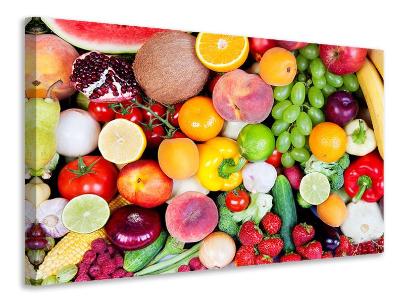 Leinwandbild Frisches Obst