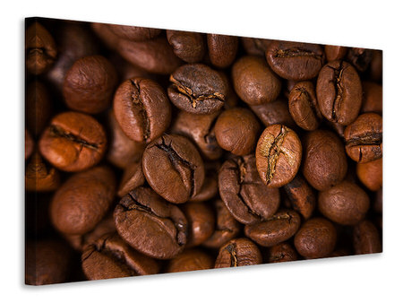Canvas print Close Up Coffee Beans