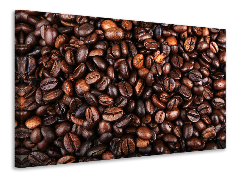 Leinwandbild Kaffeebohnen in XXL