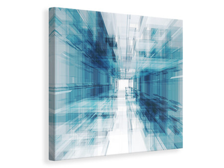 Canvas print Abstract Space Expansion