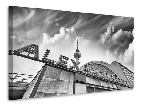 Canvas print Alexanderplatz