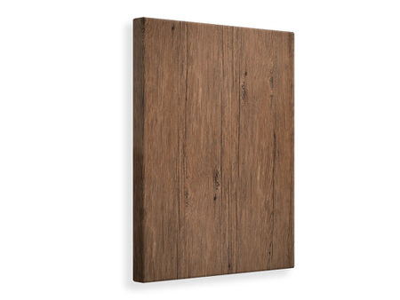 Canvas print Teak Wood