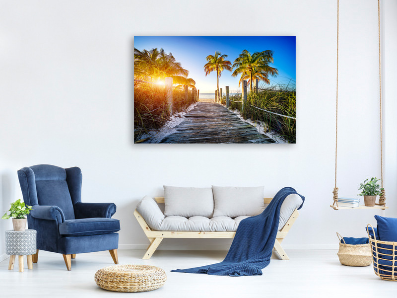 Canvas print Beach Away