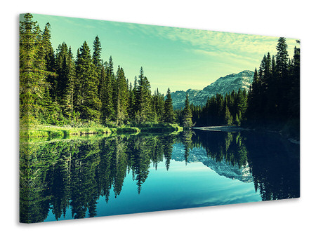 Canvas print The Music Of Silence In The Mountains