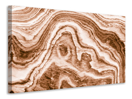 Canvas print Marble In Sepia