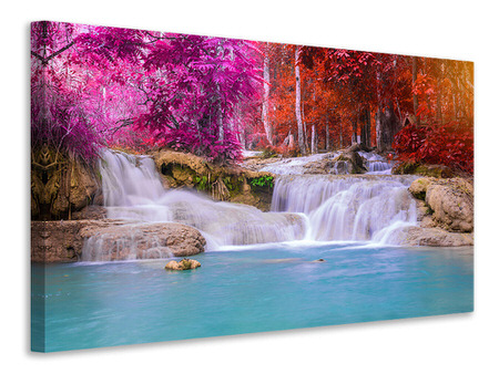 Canvas print Paradisiacal Waterfall